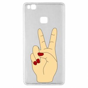 Etui na Huawei P9 Lite Hand peace