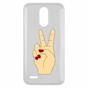 Etui na Lg K10 2017 Hand peace