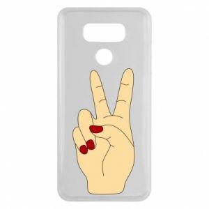 Etui na LG G6 Hand peace