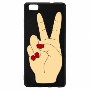 Etui na Huawei P 8 Lite Hand peace