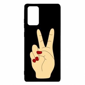 Etui na Samsung Note 20 Hand peace