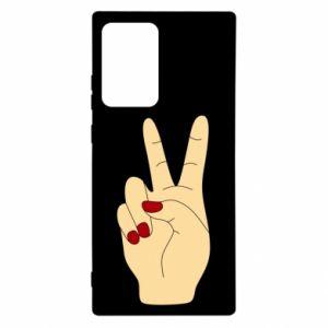 Etui na Samsung Note 20 Ultra Hand peace