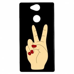 Etui na Sony Xperia XA2 Hand peace