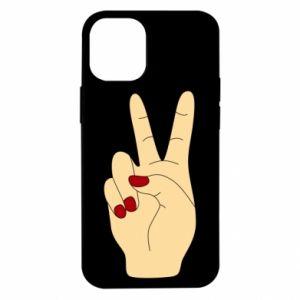 Etui na iPhone 12 Mini Hand peace