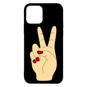 Etui na iPhone 12/12 Pro Hand peace