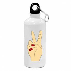 Bidon turystyczny Hand peace