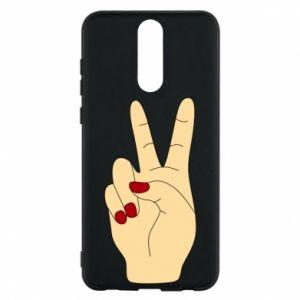 Phone case for Huawei Mate 10 Lite Hand peace - PrintSalon