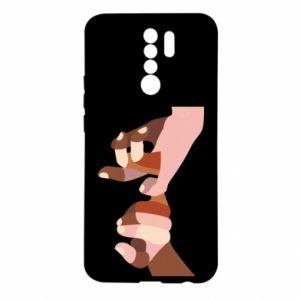 Etui na Xiaomi Redmi 9 Hands art