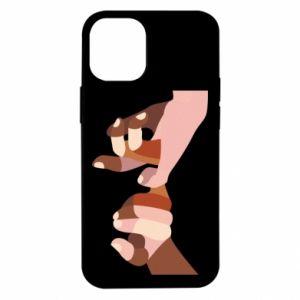 Etui na iPhone 12 Mini Hands art