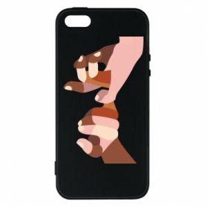 Etui na iPhone 5/5S/SE Hands art