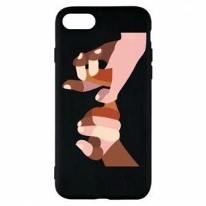 Etui na iPhone 7 Hands art