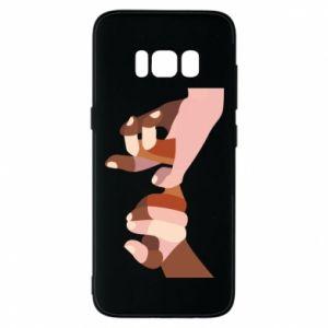 Etui na Samsung S8 Hands art