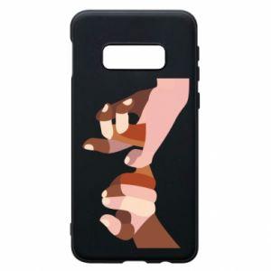 Etui na Samsung S10e Hands art