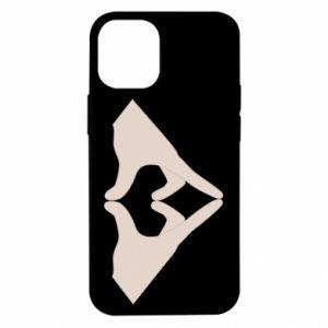 Etui na iPhone 12 Mini Hands heart