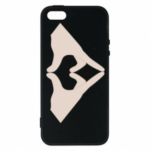Etui na iPhone 5/5S/SE Hands heart