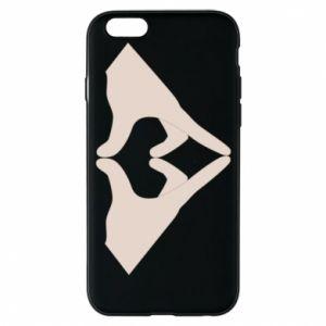 Etui na iPhone 6/6S Hands heart