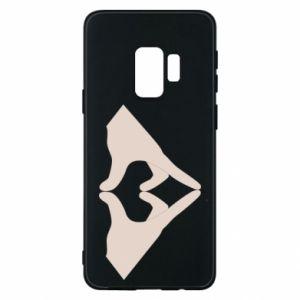Etui na Samsung S9 Hands heart