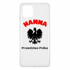 Phone case for Samsung A80 Hanna is a real Pole - PrintSalon