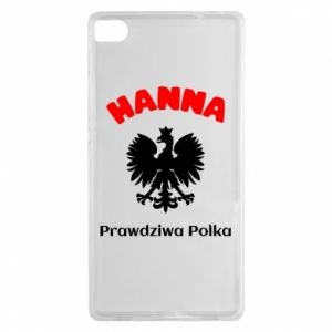 Phone case for Huawei P10 Lite Hanna is a real Pole - PrintSalon