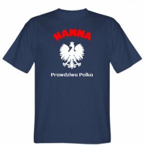Koszulka Hanna jest prawdziwą Polką