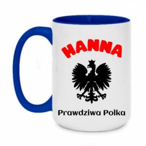 Two-toned mug 450ml Hanna is a real Pole