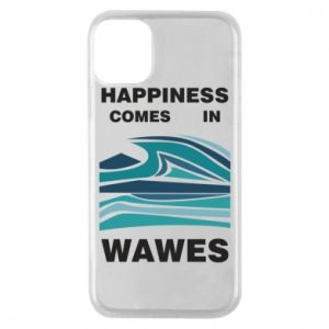 Etui na iPhone 11 Pro Happiness comes in wawes