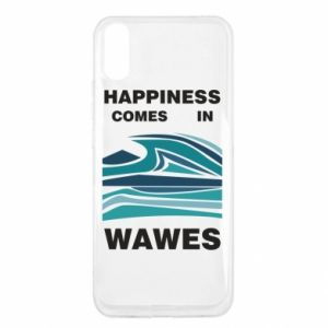 Xiaomi Redmi 9a Case Happiness comes in wawes