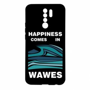 Etui na Xiaomi Redmi 9 Happiness comes in wawes