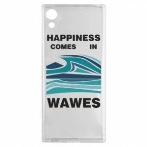 Etui na Sony Xperia XA1 Happiness comes in wawes