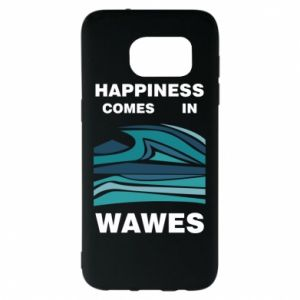 Etui na Samsung S7 EDGE Happiness comes in wawes