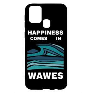 Etui na Samsung M31 Happiness comes in wawes
