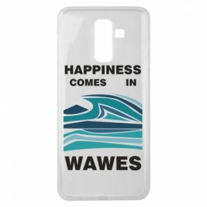 Etui na Samsung J8 2018 Happiness comes in wawes