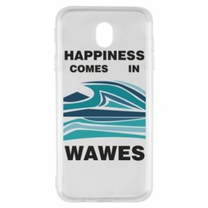 Etui na Samsung J7 2017 Happiness comes in wawes
