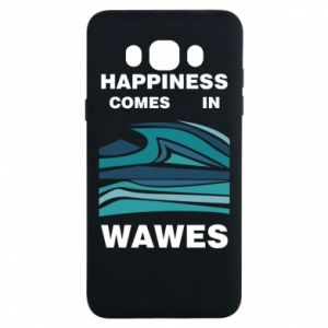 Etui na Samsung J7 2016 Happiness comes in wawes