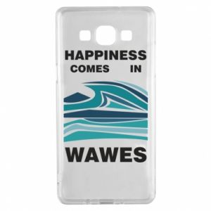 Etui na Samsung A5 2015 Happiness comes in wawes