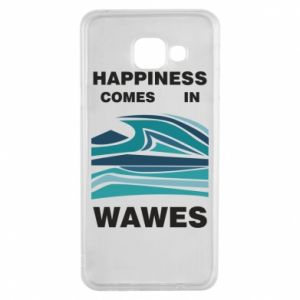 Etui na Samsung A3 2016 Happiness comes in wawes