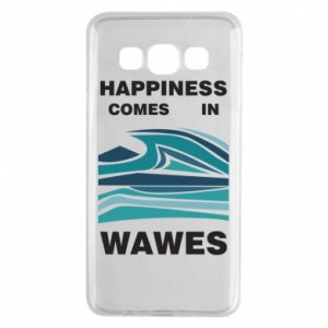 Etui na Samsung A3 2015 Happiness comes in wawes