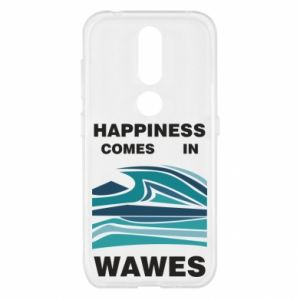 Etui na Nokia 4.2 Happiness comes in wawes