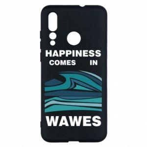 Etui na Huawei Nova 4 Happiness comes in wawes