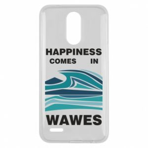 Etui na Lg K10 2017 Happiness comes in wawes