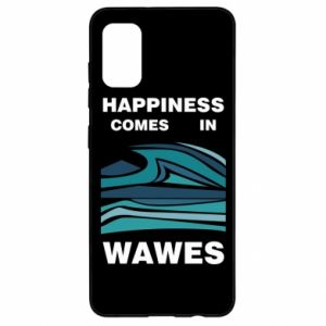 Etui na Samsung A41 Happiness comes in wawes