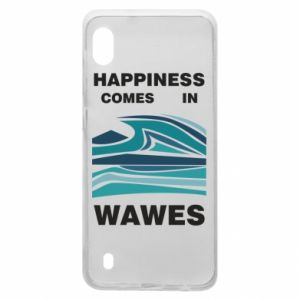 Etui na Samsung A10 Happiness comes in wawes