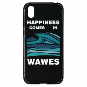 Etui na Huawei Y5 2019 Happiness comes in wawes