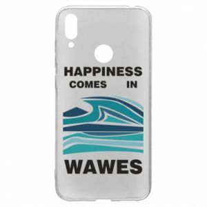 Etui na Huawei Y7 2019 Happiness comes in wawes