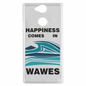 Etui na Sony Xperia XA2 Happiness comes in wawes