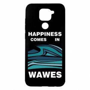 Etui na Xiaomi Redmi Note 9/Redmi 10X Happiness comes in wawes