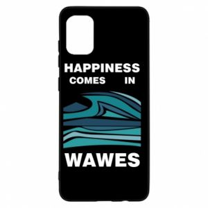 Etui na Samsung A31 Happiness comes in wawes