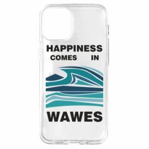 Etui na iPhone 12 Mini Happiness comes in wawes