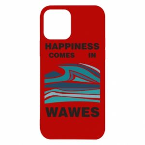Etui na iPhone 12/12 Pro Happiness comes in wawes