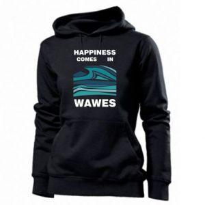 Damska bluza Happiness comes in wawes